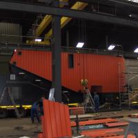 Biomassacentrale van Volvo