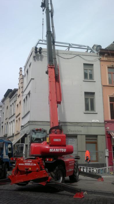 Construction du toit